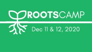 RootsCamp 2020 logo